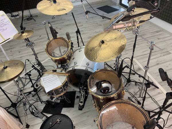 batería de Antonio Orozco - IMG